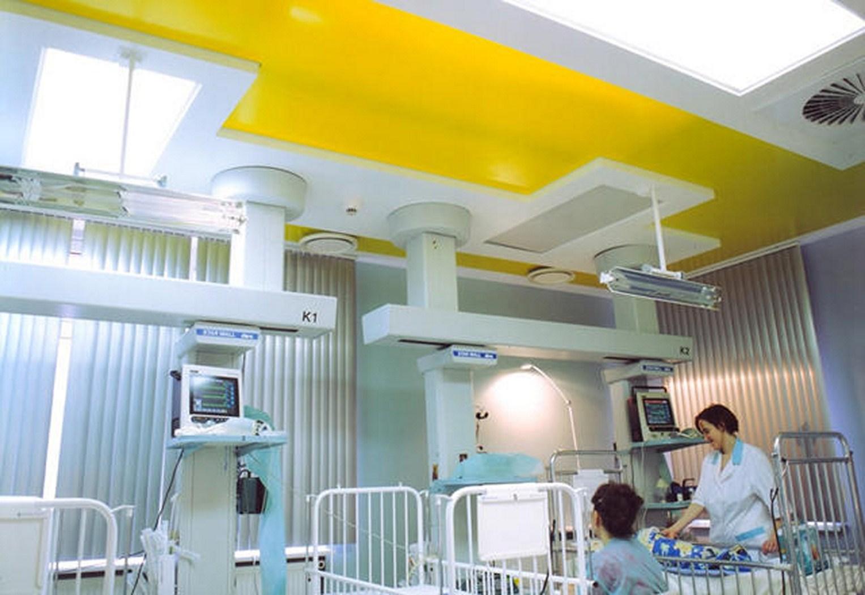 תקרה  Bio Proof למעבדות, מרפאות, בתי חולים וחדרים נקיים