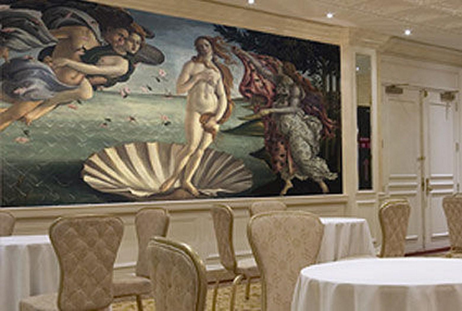 קירות דקורטיביים במסעדות  3D Feel